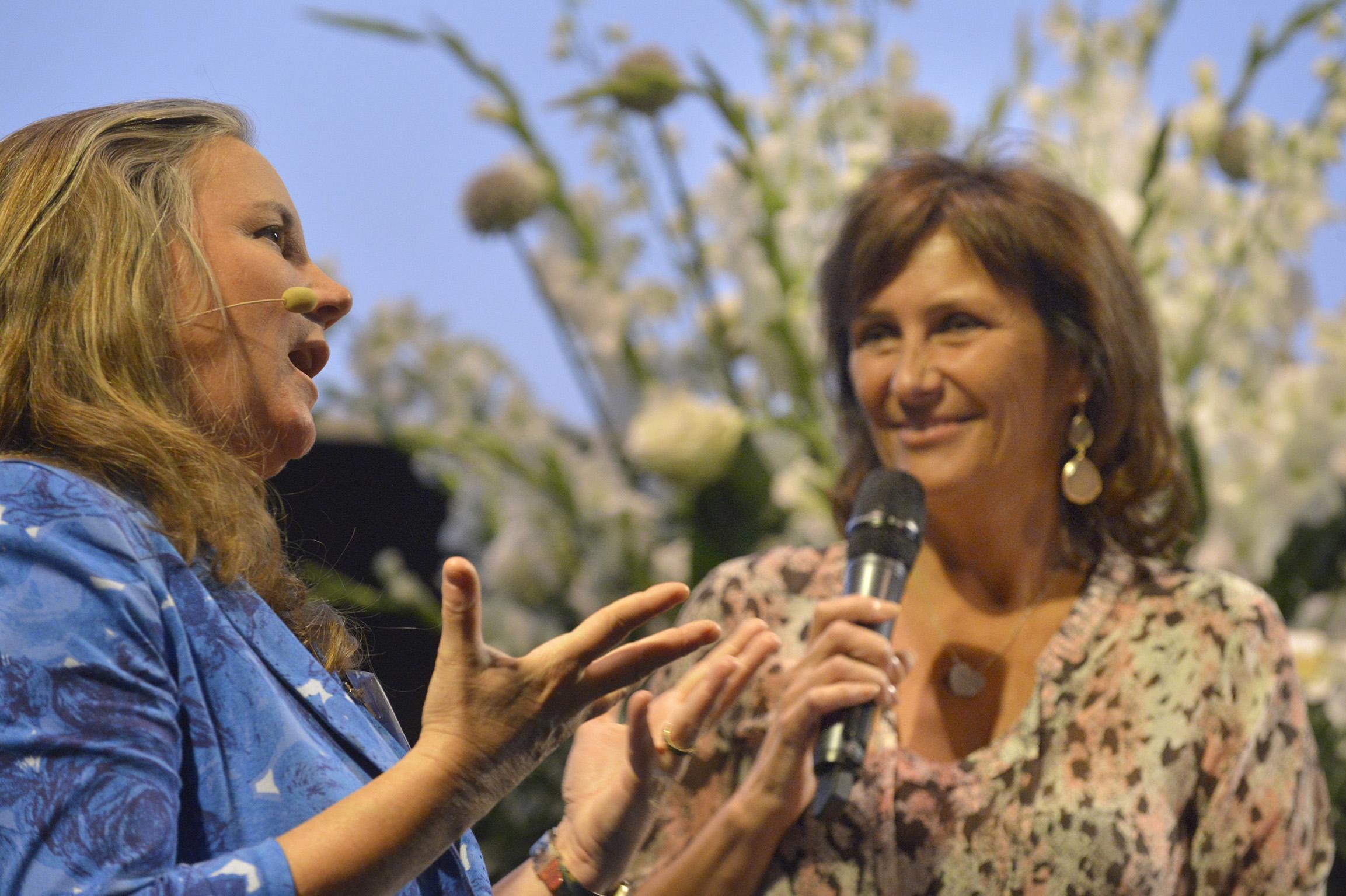 Astrid Joosten Als Dagvoorzitter Tijdens Het BMM Final Event