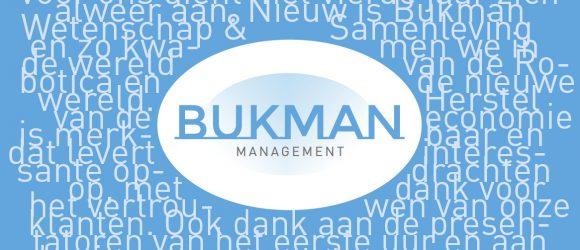Bukman Management - Dagvoorzitters, Gastsprekers & Sprekers inhuren