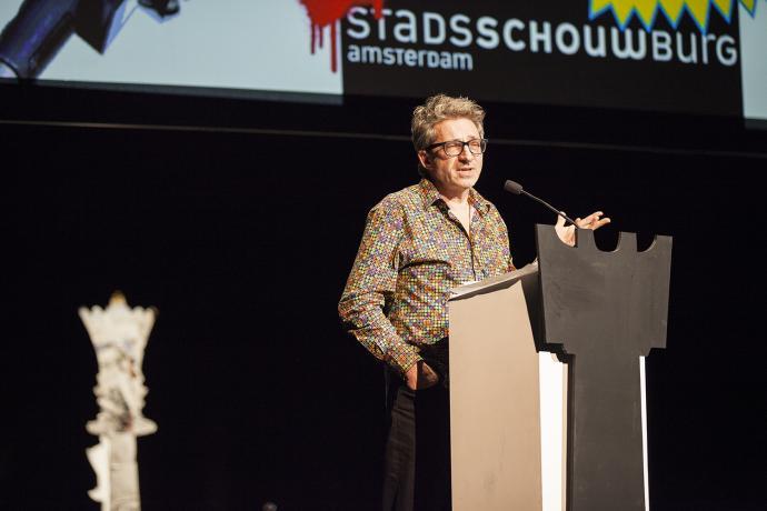 Frenk Van Der Linden In De Stadsschouwburg