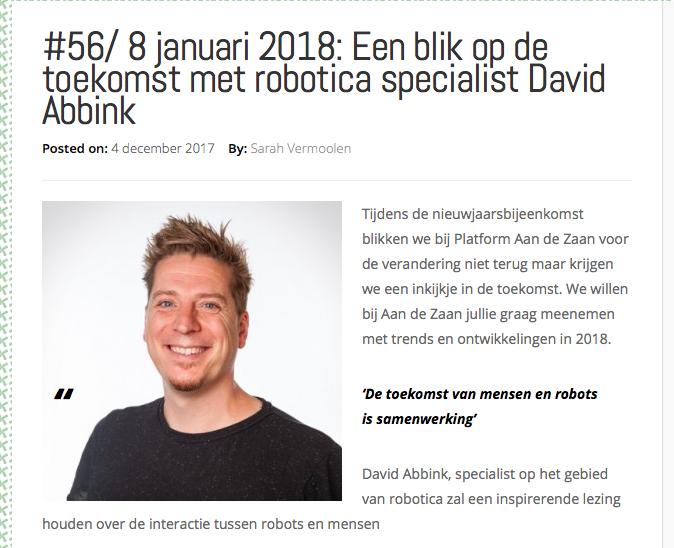 David Abbink Platform Aan De Zaan