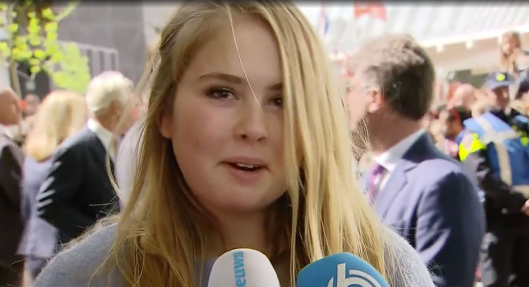 Sander Paulus Interviewt Amalia