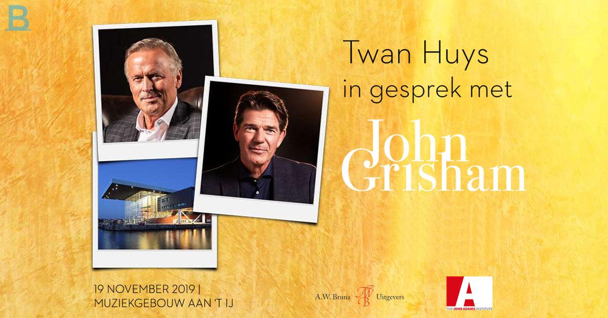 Twan Huys In Gesprek Met John Grisham