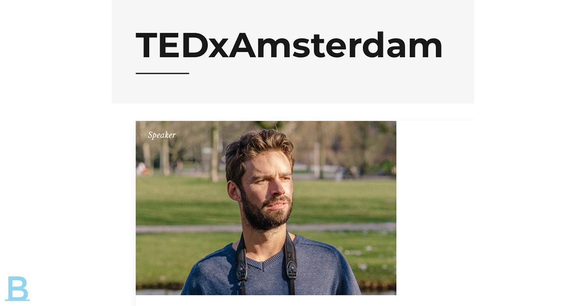 Ted-X Amsterdam Met Arjan Dwarshuis